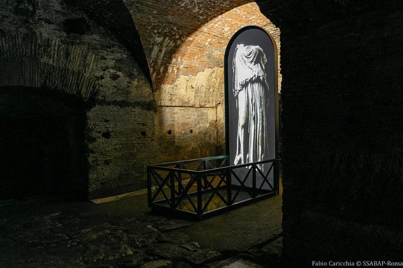 Plessi a Caracalla. Il segreto del tempo. Ph. F. Caricchia