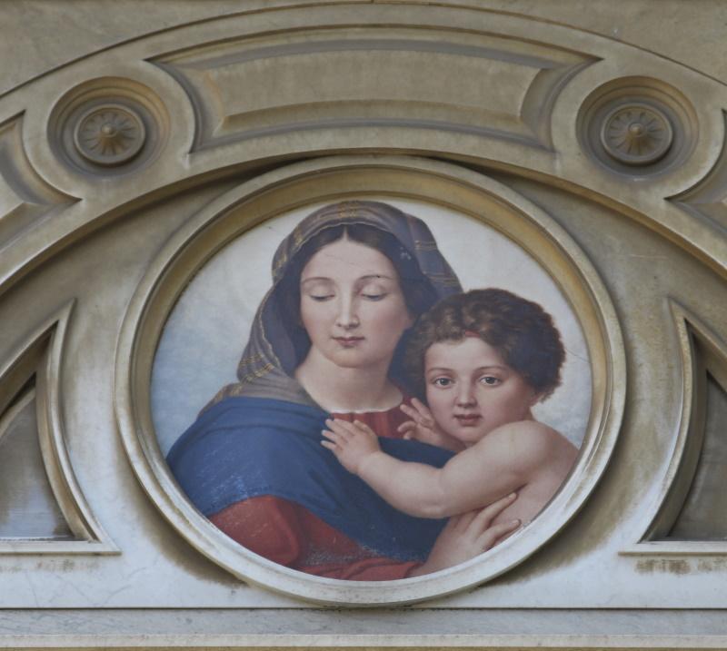 Tomba Rognetta - particolare (dipinto Severati)