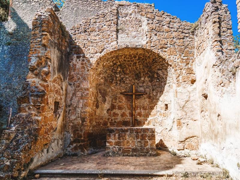 Antica Monterano-Palazzo Ducale ph Comune di Canale Monterano