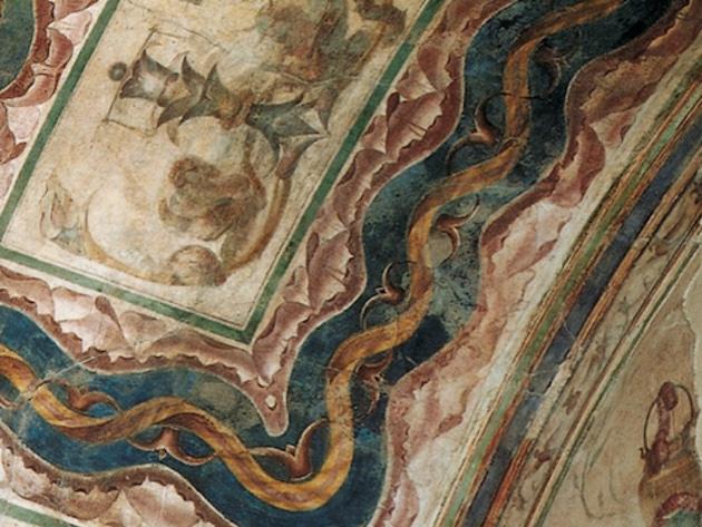 Aula Isiaca con la Loggia Mattei foto sito Parco archeologico del Colosseo