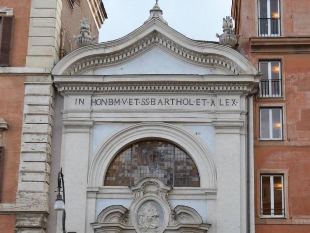 Chiesa dei Santi Bartolomeo e Alessandro dei Bergamaschi