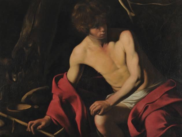 San Giovanni Battista - Caravaggio (Michelangelo Merisi), Galleria Corsini