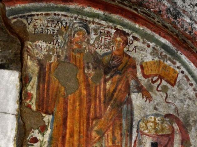 Catacombe di Domitilla foto sito ufficiale Catacombe