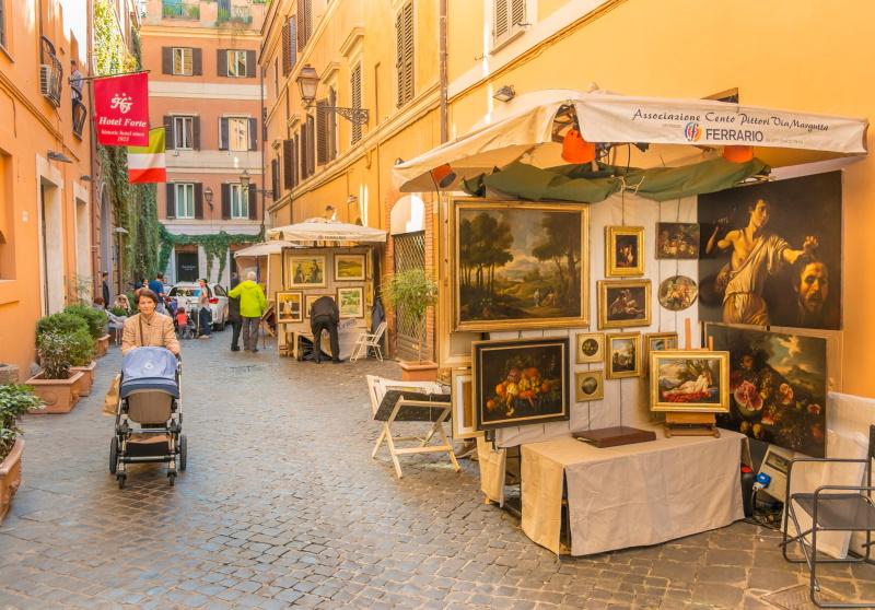 Cento pittori - via Margutta