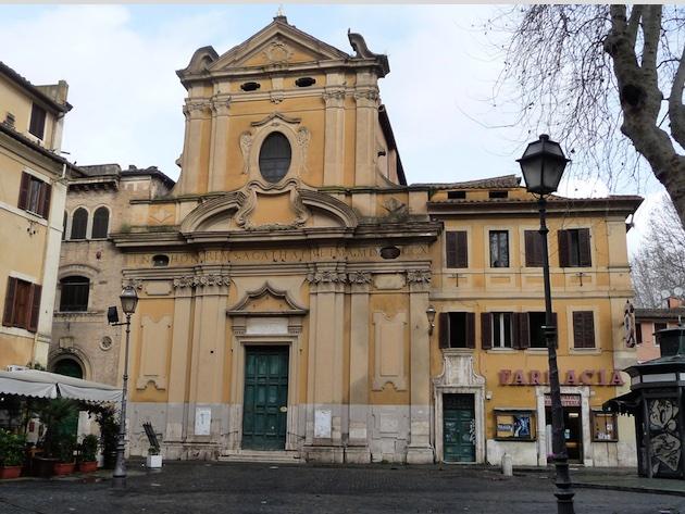 Chiesa di Sant'Agata in Trastevere-Foto sito ufficiale Arciconfraternita del Carmine