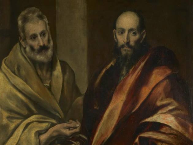 Domenico Theotokopoulos (El Greco), Santi Pietro e Paolo (dettaglio), Hermitage State Museum, San Pietroburgo
