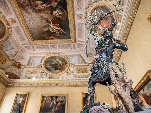 Female Archer, 2013, Collezione privata, Ph. A. Novelli © Galleria Borghese-Ministero della Cultura  © Damien Hirst and Science Ltd.