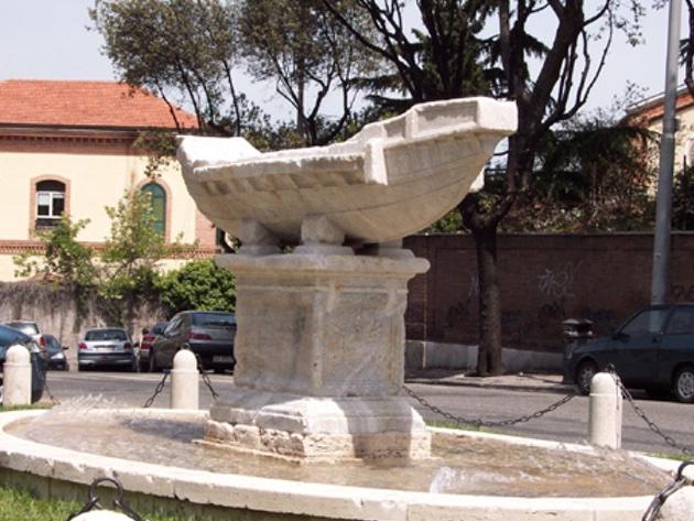 Fontana della Navicella-Foto Sovrintendenza Capitolina