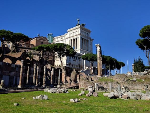 Foro di Cesare-Foto Sovrintendenza Archeologica di Roma