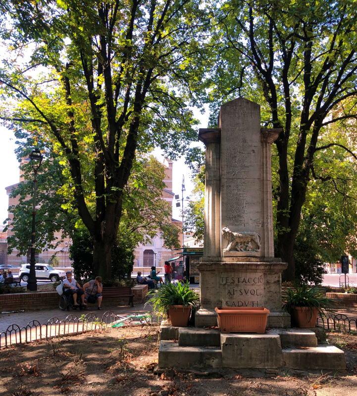 Giardini di piazza Santa Maria Liberatrice