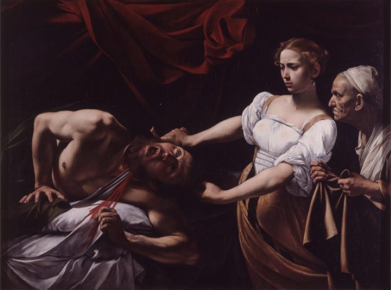 Giuditta e Oloferne, Caravaggio