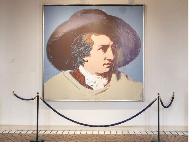 Andy Warhol: J.W. Goethe, serigrafia, 1982, Casa di Goethe