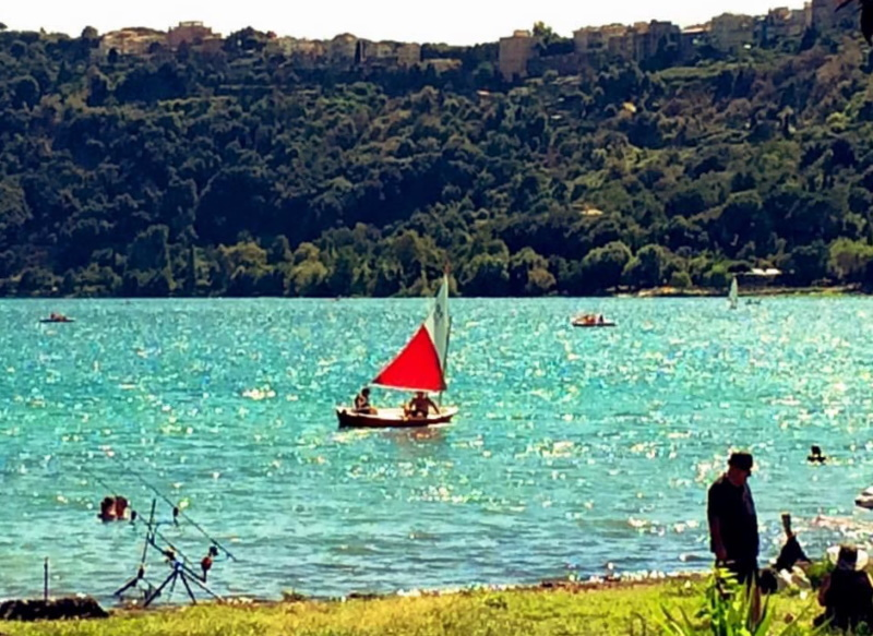 Lago Albano - Castel Gandolfo
