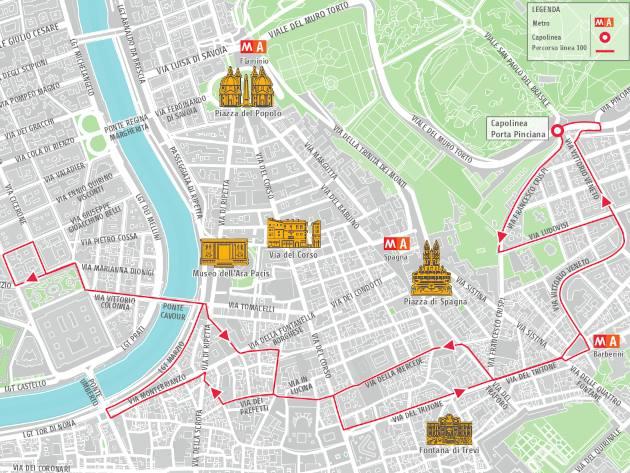 Linea 100 ph. Roma Servizi per la Mobilità Official Website