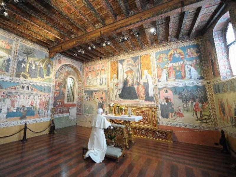 Monastero delle Oblate di Santa Francesca Romana a Tor de' Specchi - Oratorio