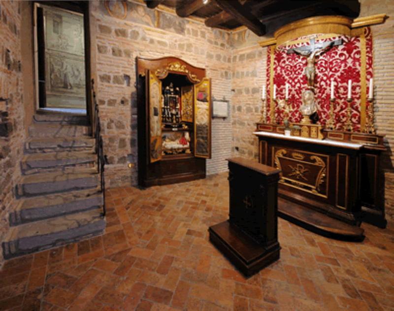 Monastero delle Oblate di Santa Francesca Romana a Tor de' Specchi - Cella della Santa