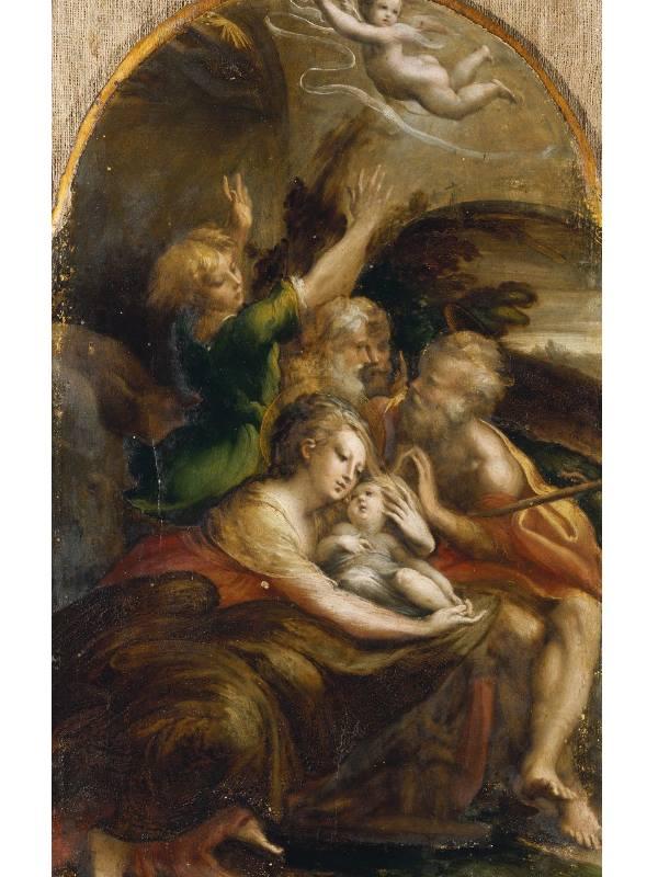 Natività con Angeli - Parmigianino ph Galleria Doria Pamphilj Official Website