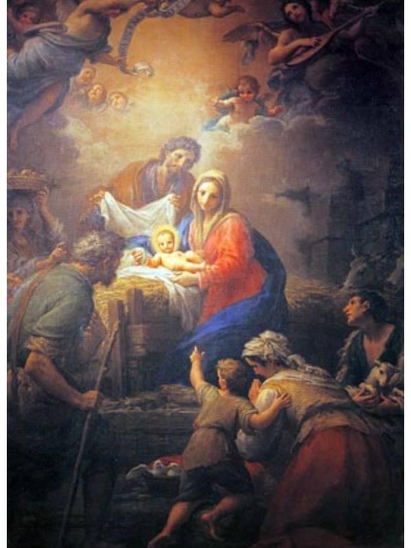 Natività di Cristo - Francesco Mancini Basilica Santa Maria Maggiore Official Website