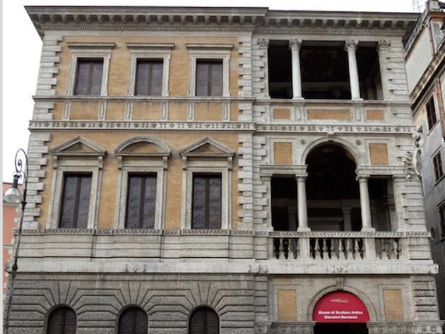 Palazzetto Le Roy (Farnesina ai Baullari o Piccola Farnesina)-Foto sito ufficiale Museo Barracco