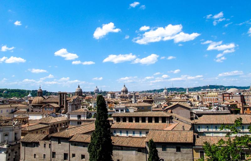 Panorama dalla Terrazza Caffarelli