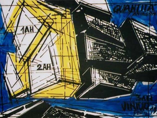 Vinicio Berti, Quantità antagonista, 1973, Nozzoli