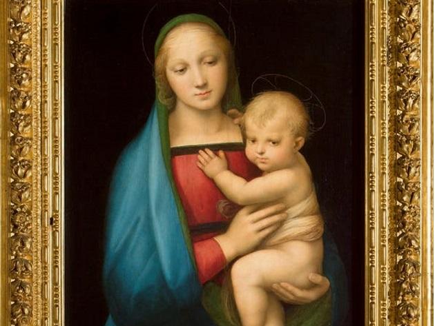 Madonna del Granduca, Raffaello, 1506-1507 ca., Gallerie degli Uffizi - Firenze