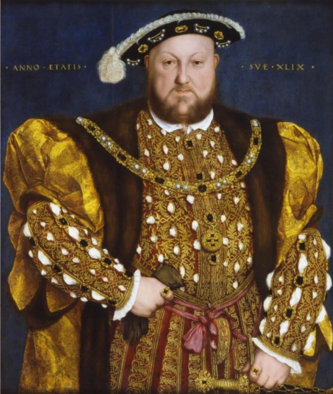 Ritratto di Enrico VIII, Holbein