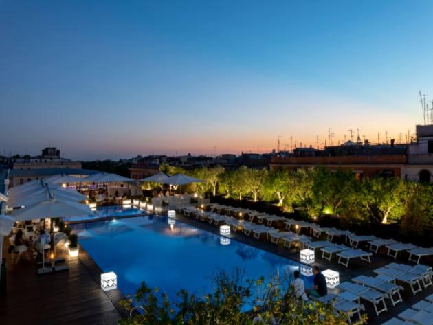 Rooftop Radisson Blu Es. Roma