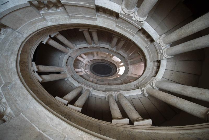 Palazzo del Quirinale - Scala del Mascarino