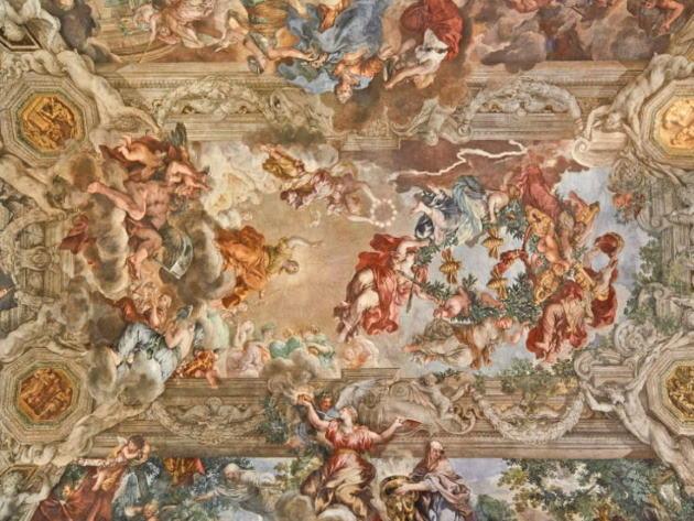 Trionfo della Divina Provvidenza, Palazzo Barberini