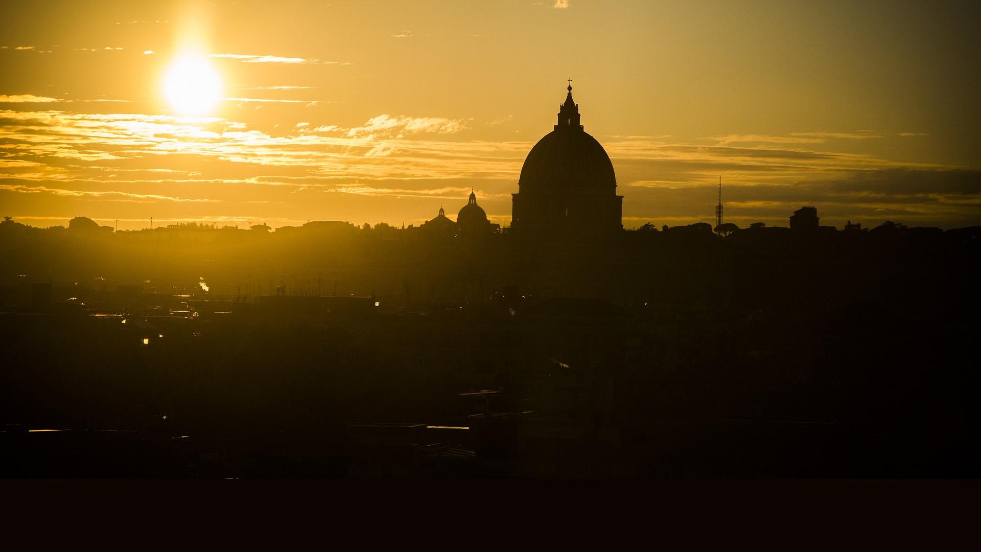 Tramonto su San Pietro