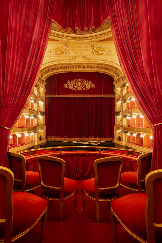 Vista dal Palco Reale del Teatro Costanzi_ph Yasuko Kageyama