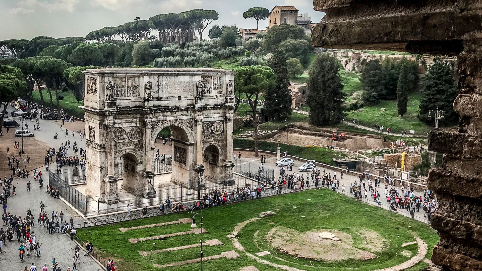 Périmètre Du Mur D Aurélien murs et arcs   turismo roma