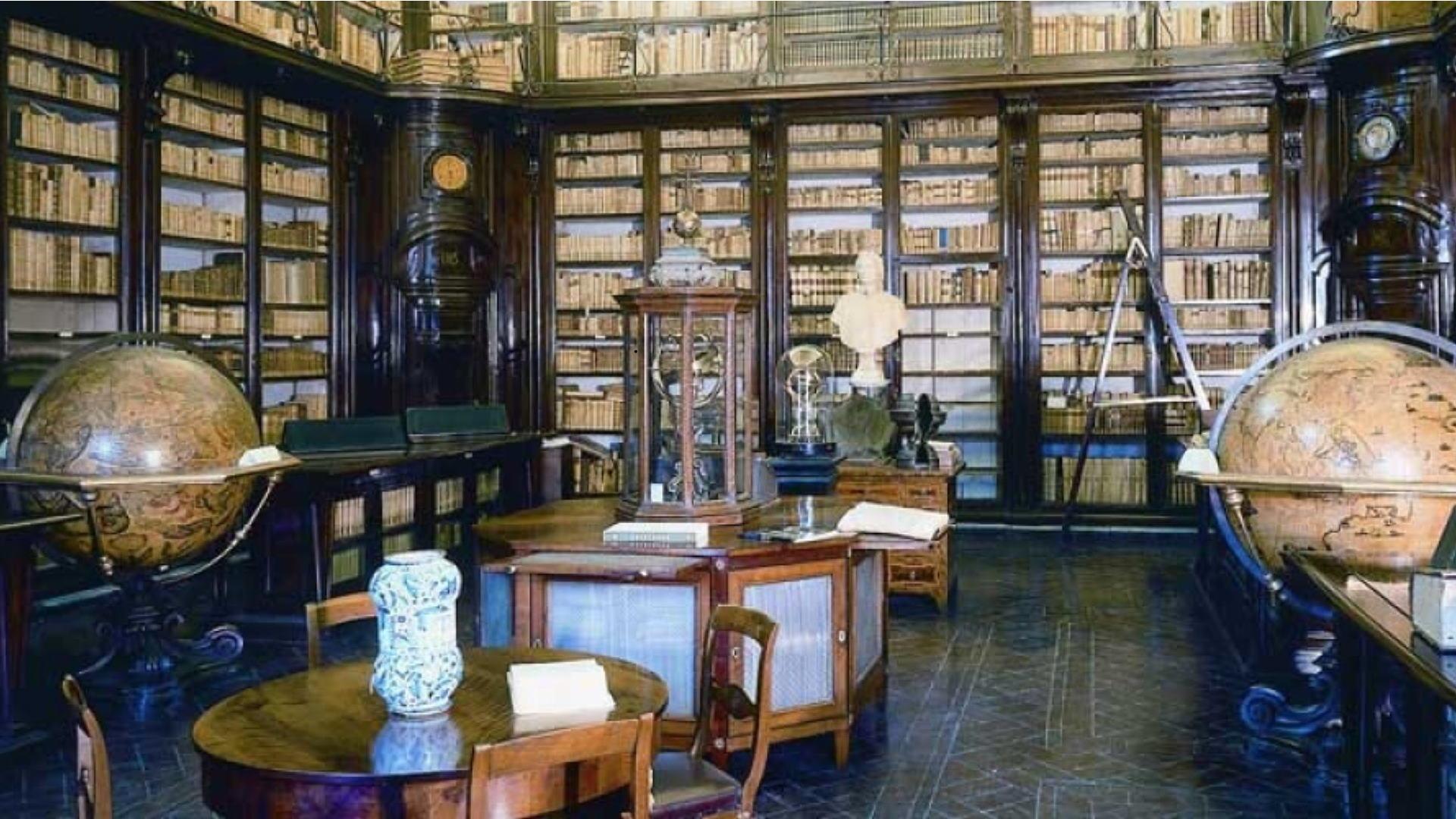 Biblioteca Lancisiana - Foto aslroma1.it