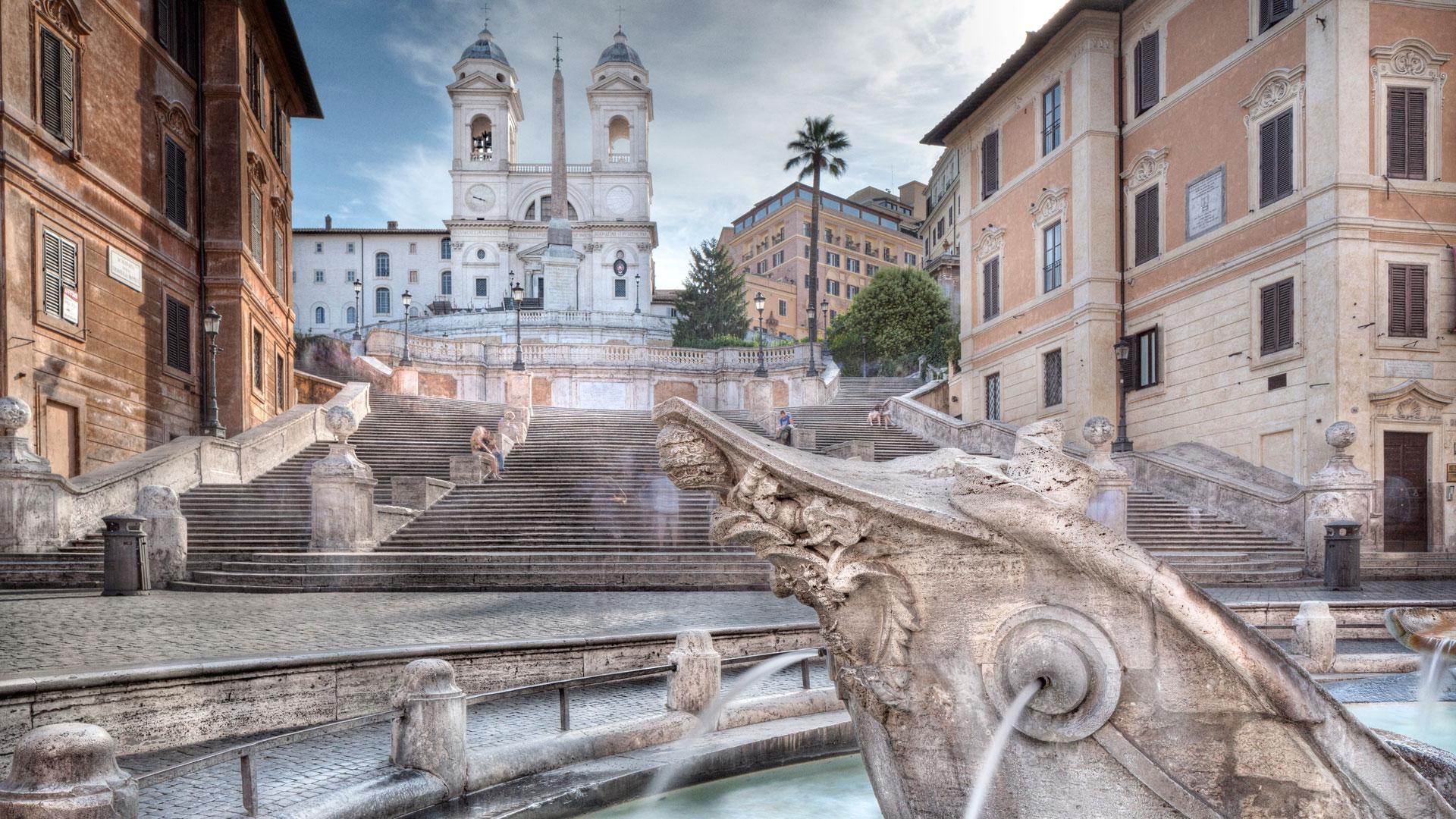Piazza di Spagna: il salotto di Roma
