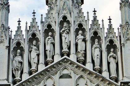 Facciata Chiesa del Sacro Cuore del Suffragio