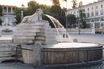 Fontana dei Leoni, particolare - ph. Sovrintendenza Capitolina ai Beni Culturali
