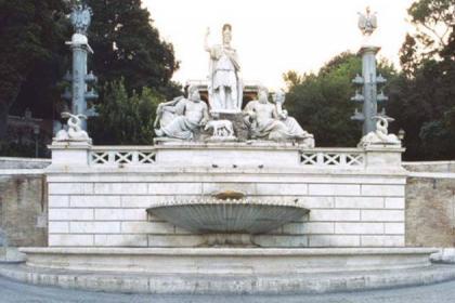 Fontana della Dea Roma ph. Sovrintendenza Capitolina ai Beni Culturali