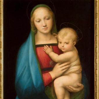 Madonna del Granduca,  1506-1507 ca, Gallerie degli Uffizi, Firenze