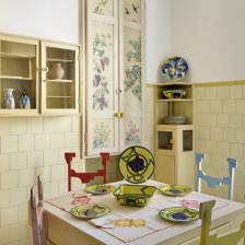 CASA BALLA, Via Oslavia Cucina / Kitchen Foto M3Studio Courtesy Fondazione MAXXI © GIACOMO BALLA, by SIAE 2021