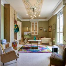 CASA BALLA, Via Oslavia Camera di Luce dettaglio / Luce's room detail Foto M3Studio Courtesy Fondazione MAXXI © GIACOMO BALLA, by SIAE 2021