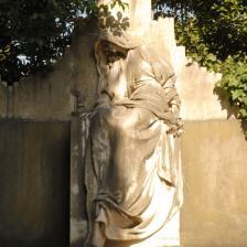 Tomba di Claudia Muzio (Pietro Canonica)