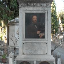 Tomba Filippo Severati - visuale intera