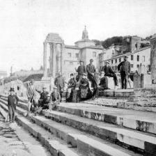 Archeologi al Foro Romano