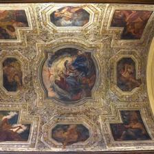 Cappella della Madonna del Pozzo particolare della volta