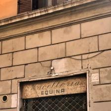 Insegna Macelleria Equina