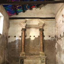 Interni chiesa Sant'Andrea de Scaphis