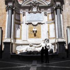 Marforio ai Musei Capitolini