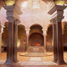 Mausoleo di Santa Costanza - interno