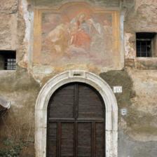 Monastero delle Oblate di Santa Francesca Romana a Tor de' Specchi - Ingresso parte antica